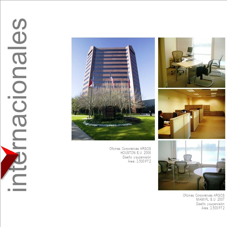 internacionales Oficinas Corporativas ARGOS HOUSTON E.U 2006