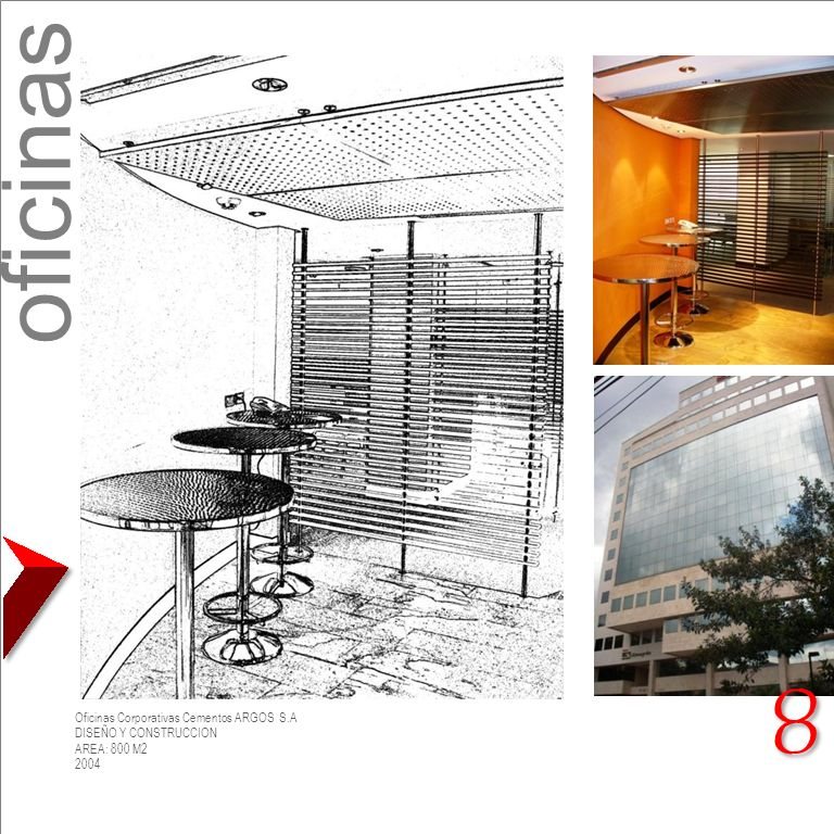 oficinas 8 Oficinas Corporativas Cementos ARGOS S.A