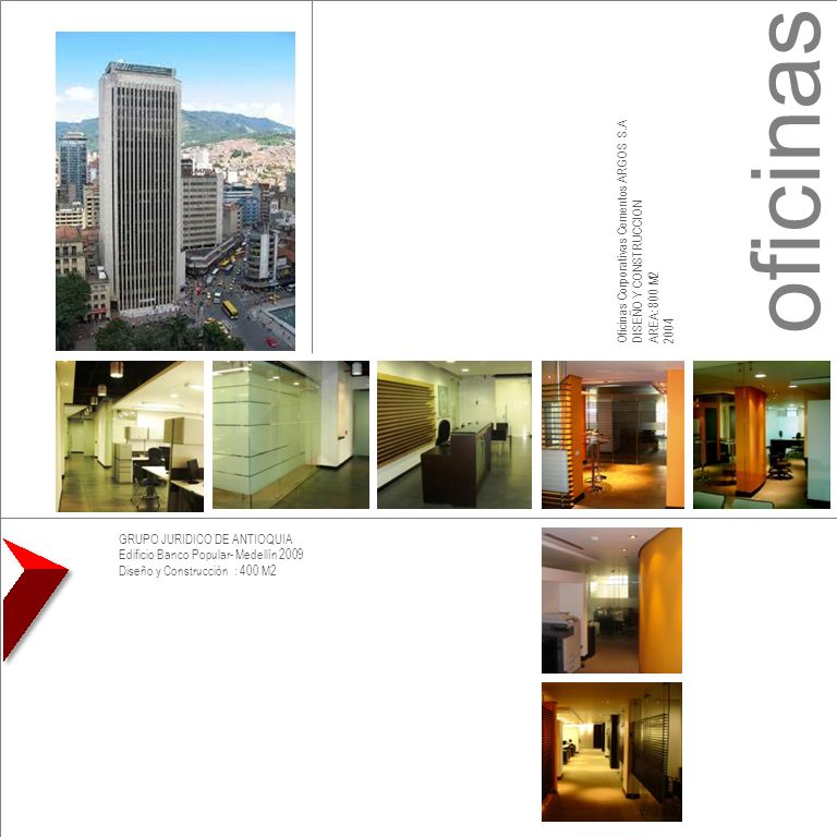 oficinas Oficinas Corporativas Cementos ARGOS S.A
