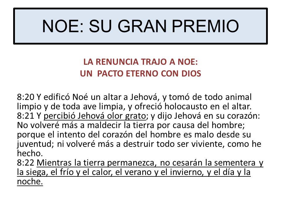 NOE: SU GRAN PREMIO