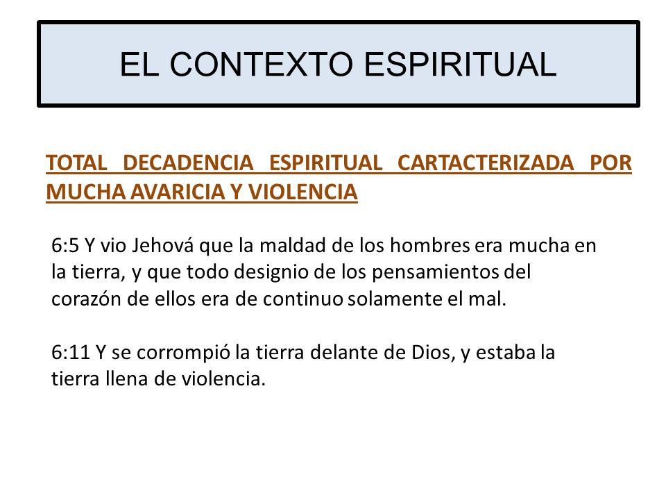 EL CONTEXTO ESPIRITUAL