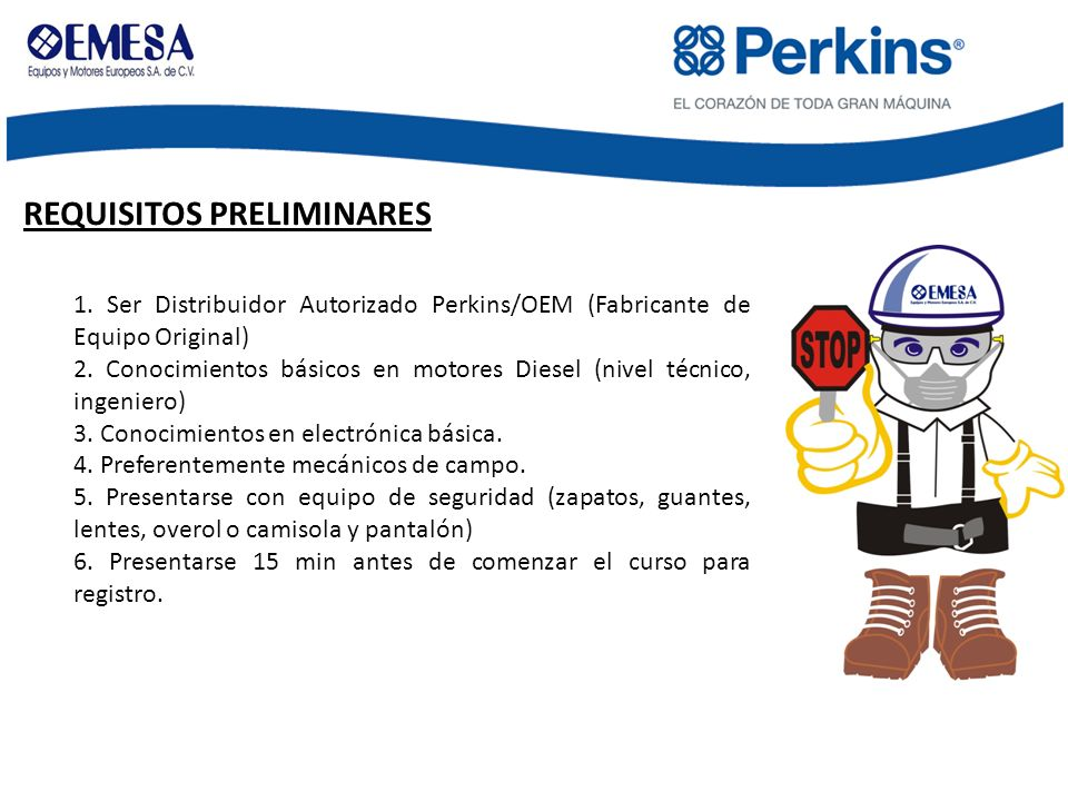 REQUISITOS PRELIMINARES