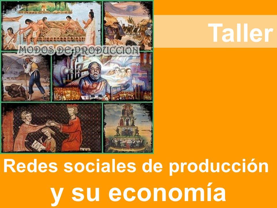 Taller y su economía Redes sociales de producción