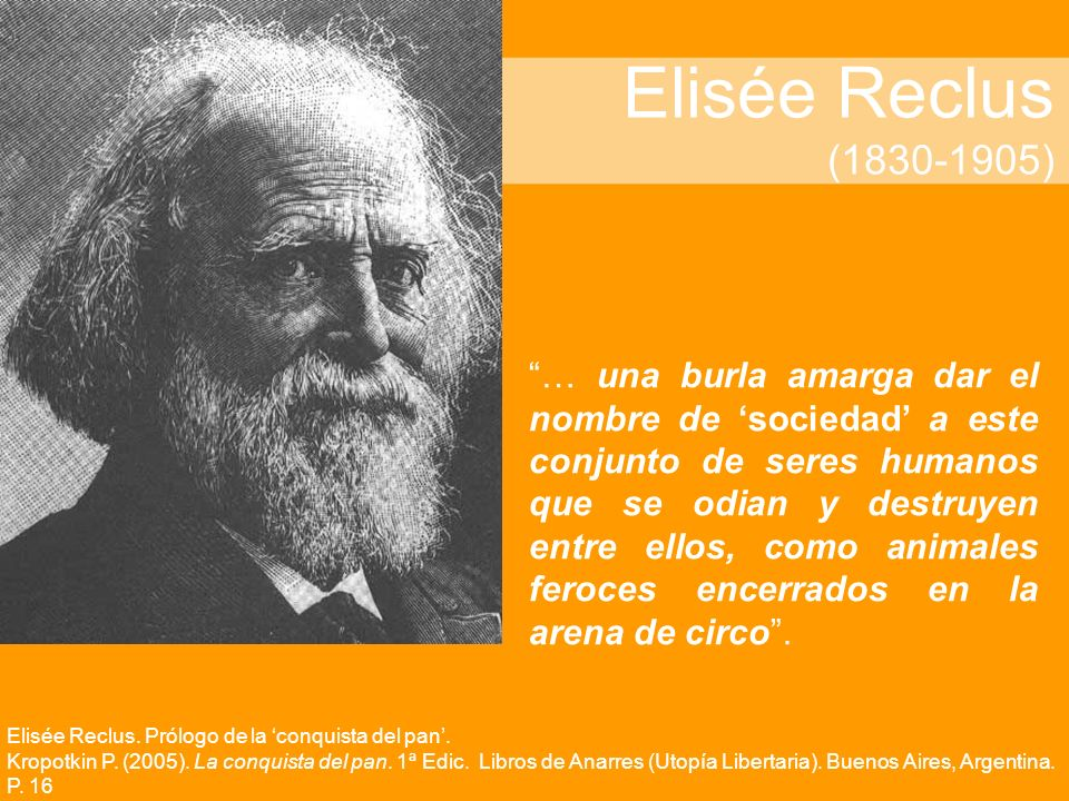 Elisée Reclus (1830-1905)