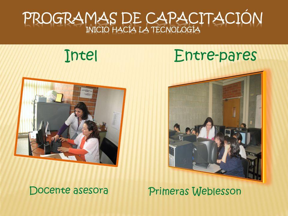 Programas de capacitación Inicio hacía la tecnología