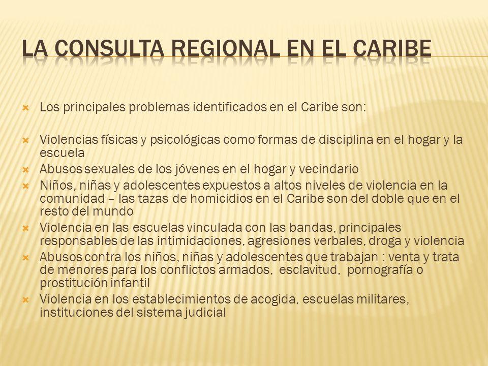 La Consulta Regional en el Caribe