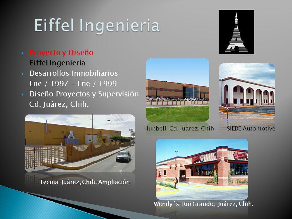 Eiffel Ingenieria Proyecto y Diseño Eiffel Ingeniería