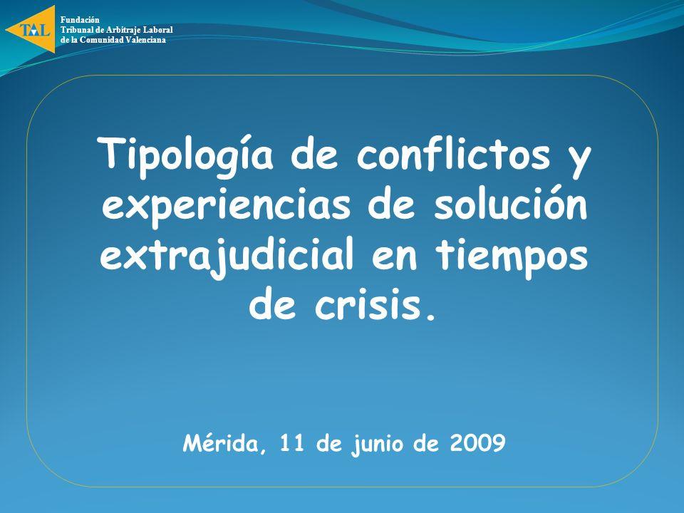 Fundación Tribunal de Arbitraje Laboral. de la Comunidad Valenciana.