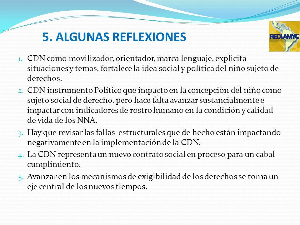 5. ALGUNAS REFLEXIONES