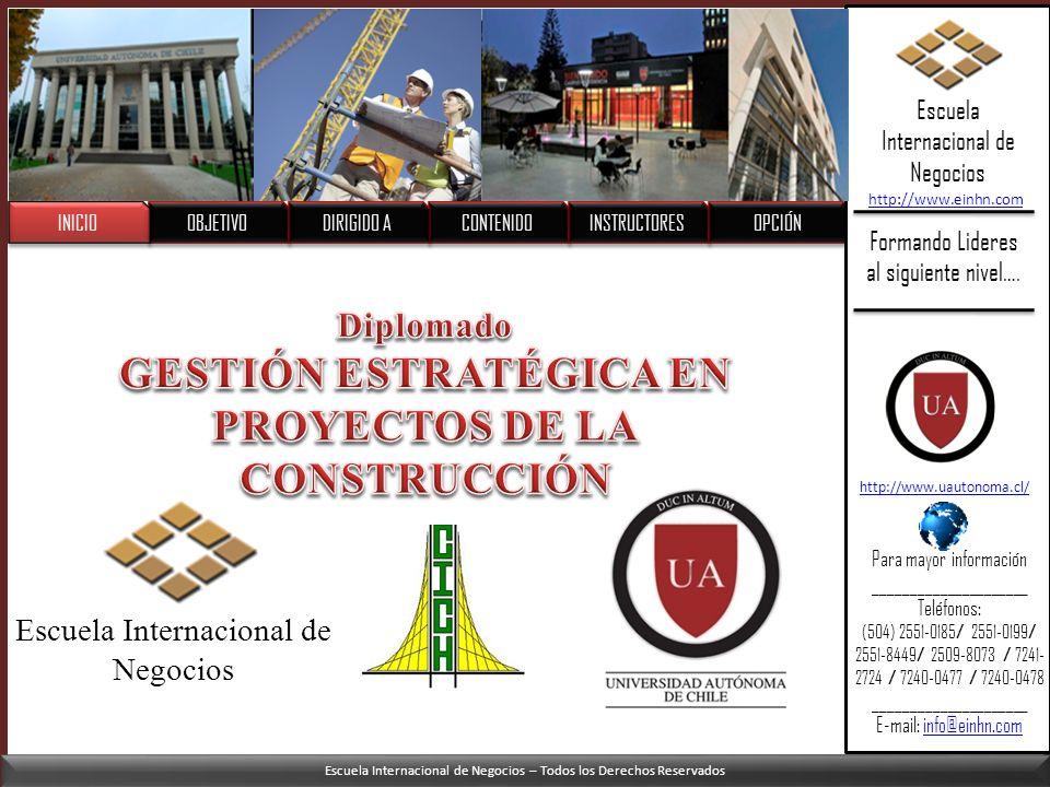 GESTIÓN ESTRATÉGICA EN PROYECTOS DE LA CONSTRUCCIÓN