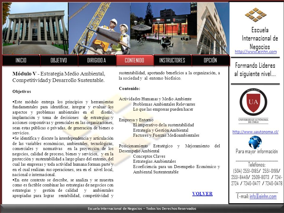 Escuela Internacional de Negocios