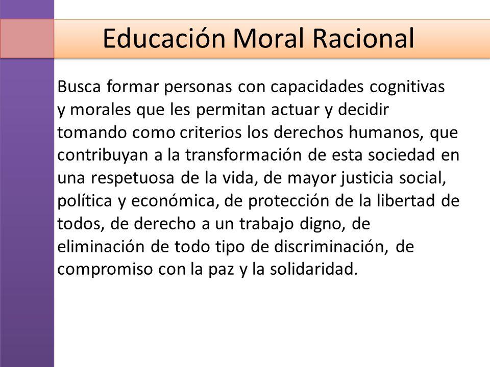 Educación Moral Racional