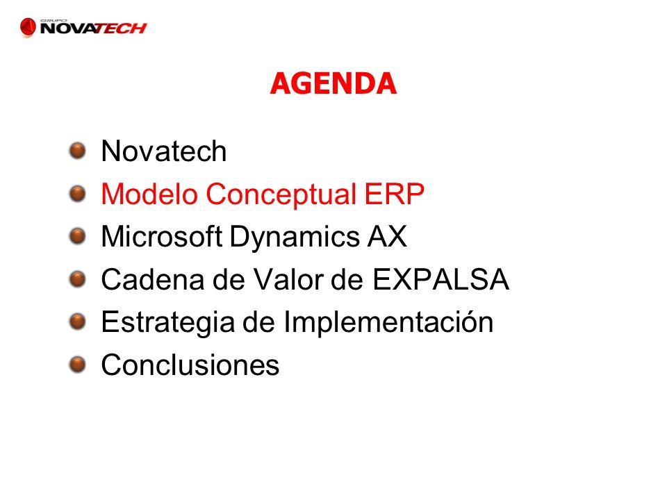 Cadena de Valor de EXPALSA Estrategia de Implementación Conclusiones
