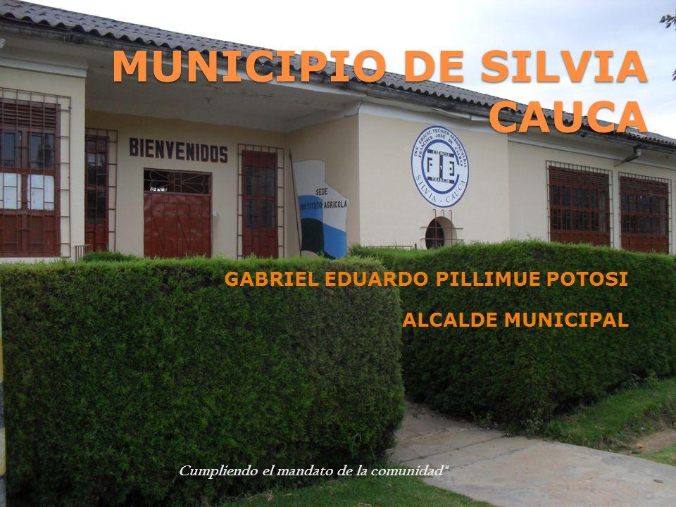 MUNICIPIO DE SILVIA CAUCA