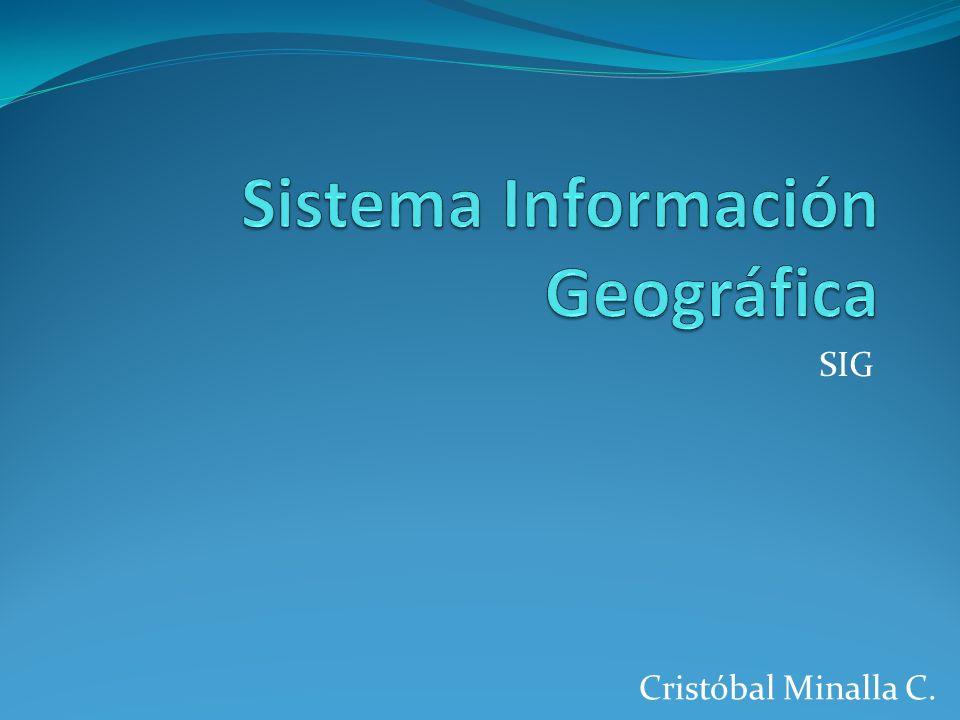 Sistema Información Geográfica