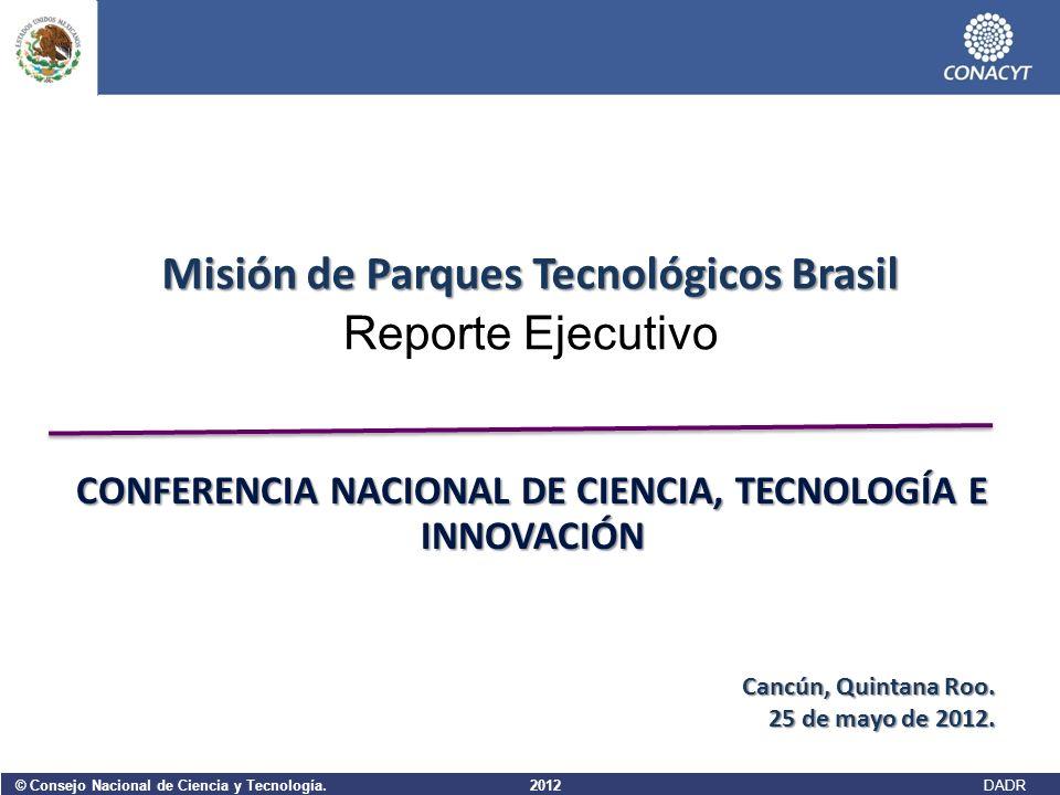 Misión de Parques Tecnológicos Brasil