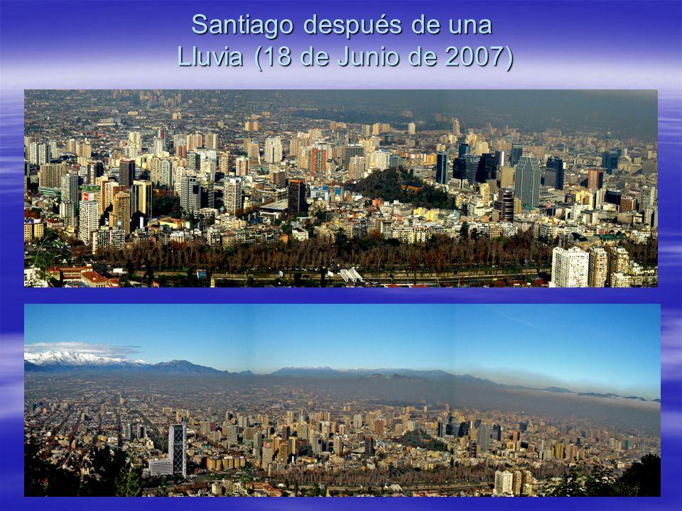 Santiago después de una Lluvia (18 de Junio de 2007)