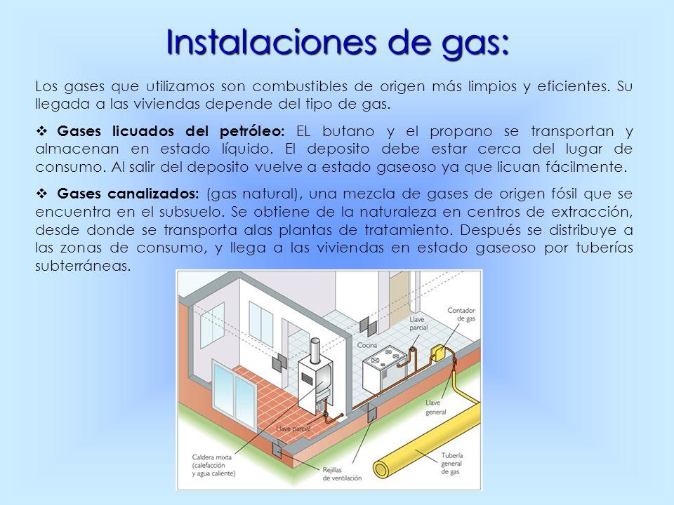 Instalaciones de gas: