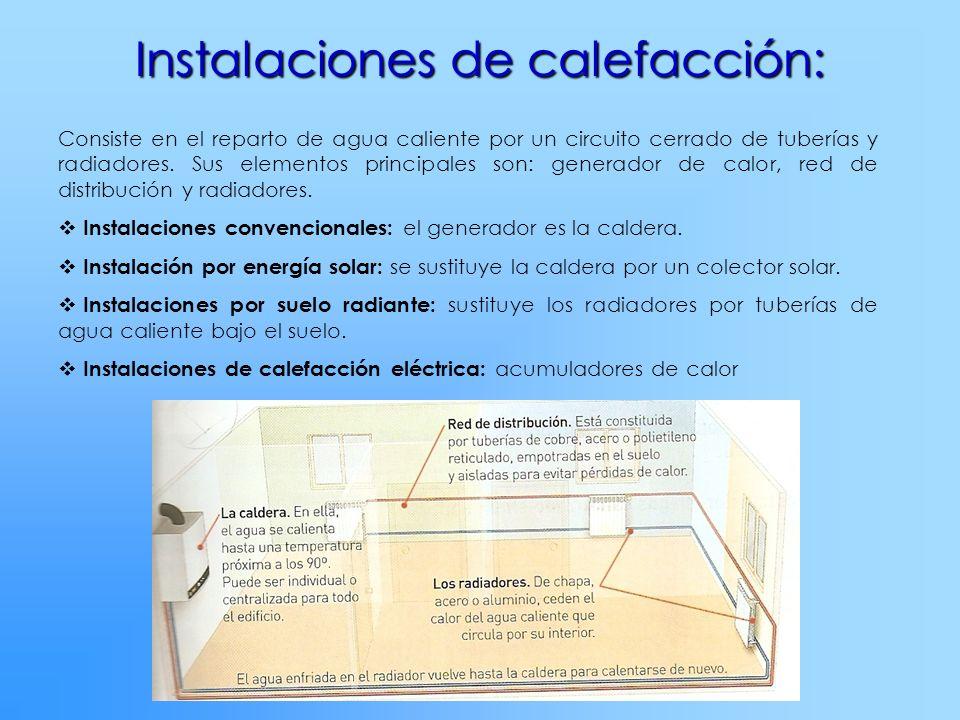 Instalaciones de calefacción: