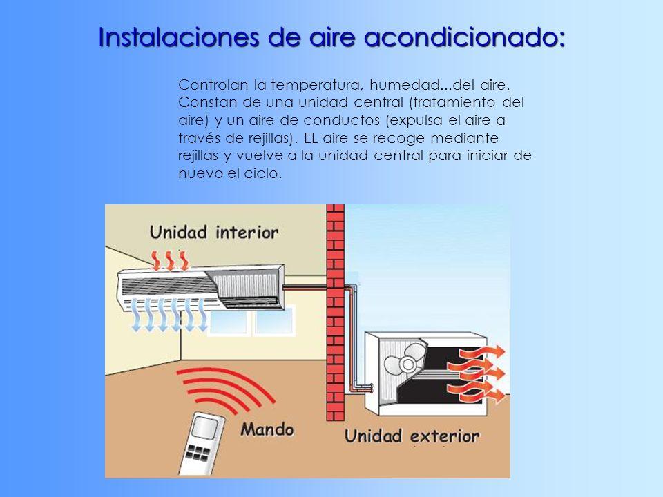 Instalaciones de aire acondicionado: