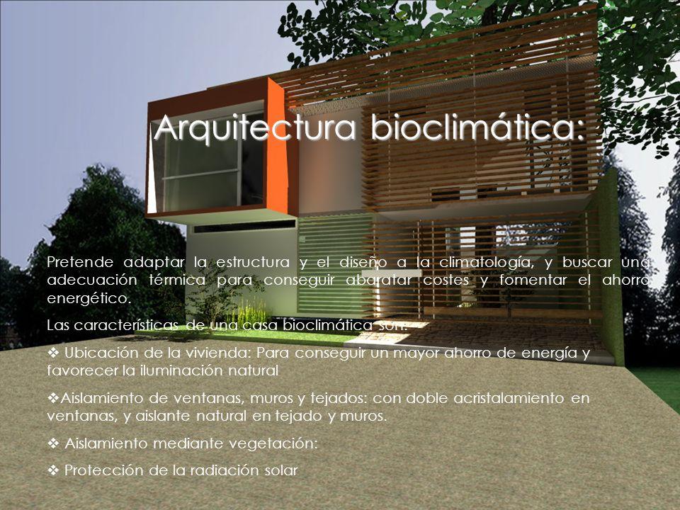 Arquitectura bioclimática: