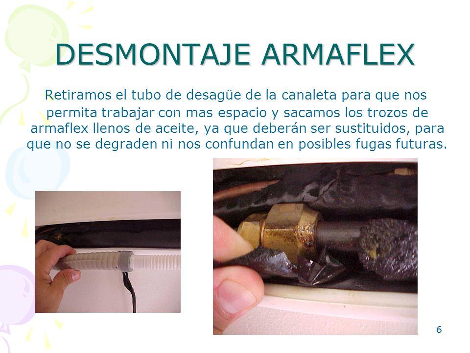 DESMONTAJE ARMAFLEX