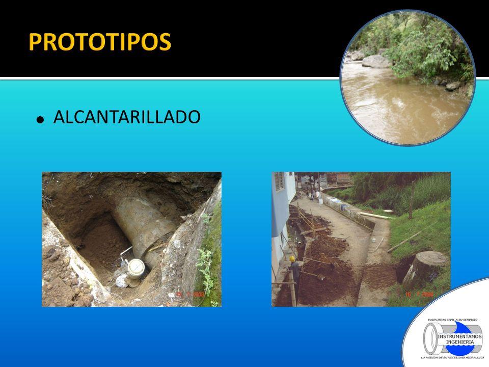 PROTOTIPOS ALCANTARILLADO