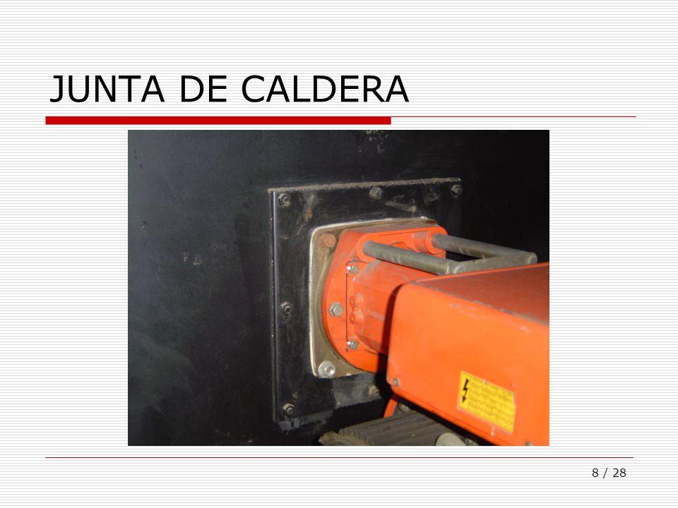 JUNTA DE CALDERA