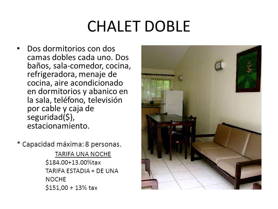 CHALET DOBLE