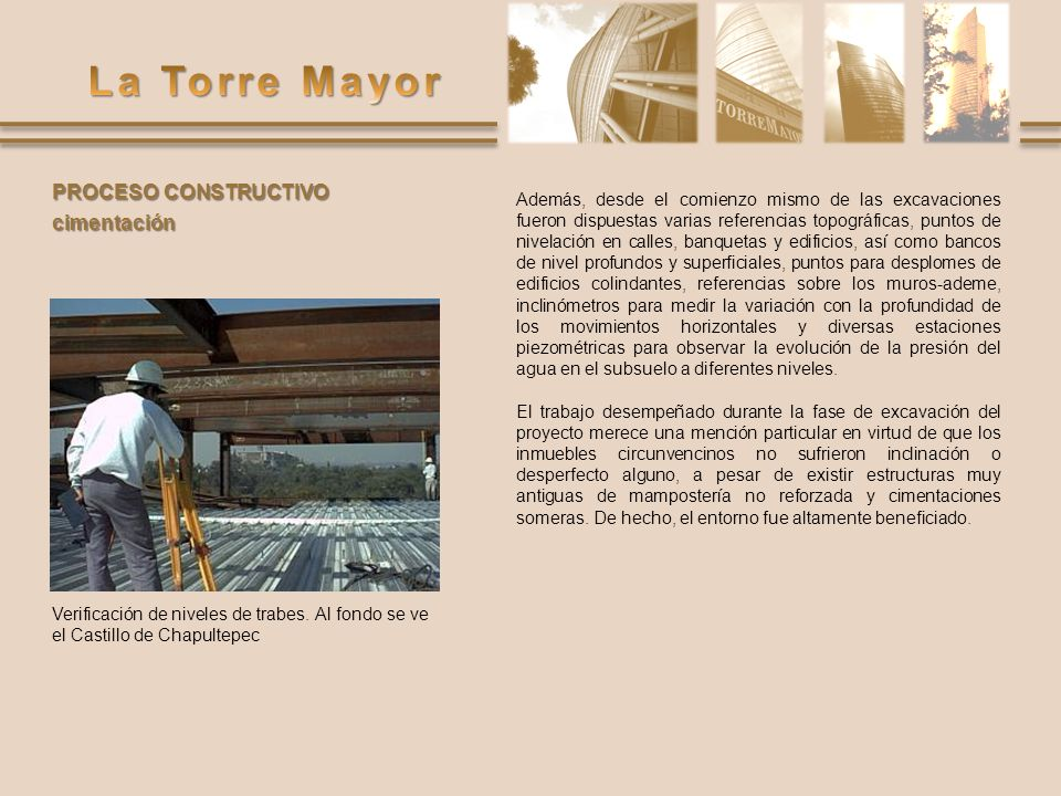 PROCESO CONSTRUCTIVO cimentación