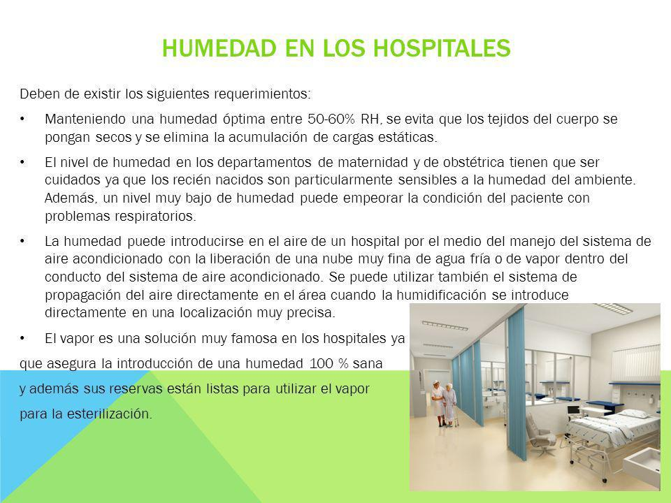 Humedad en los hospitales