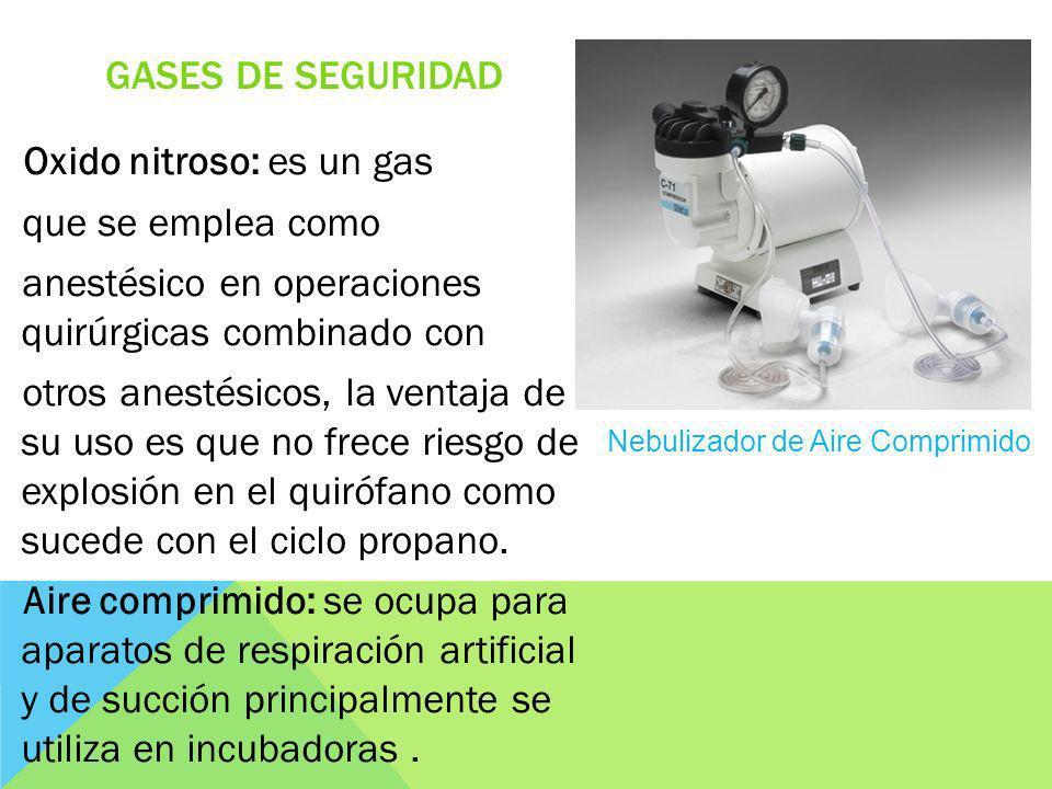Gases de seguridad