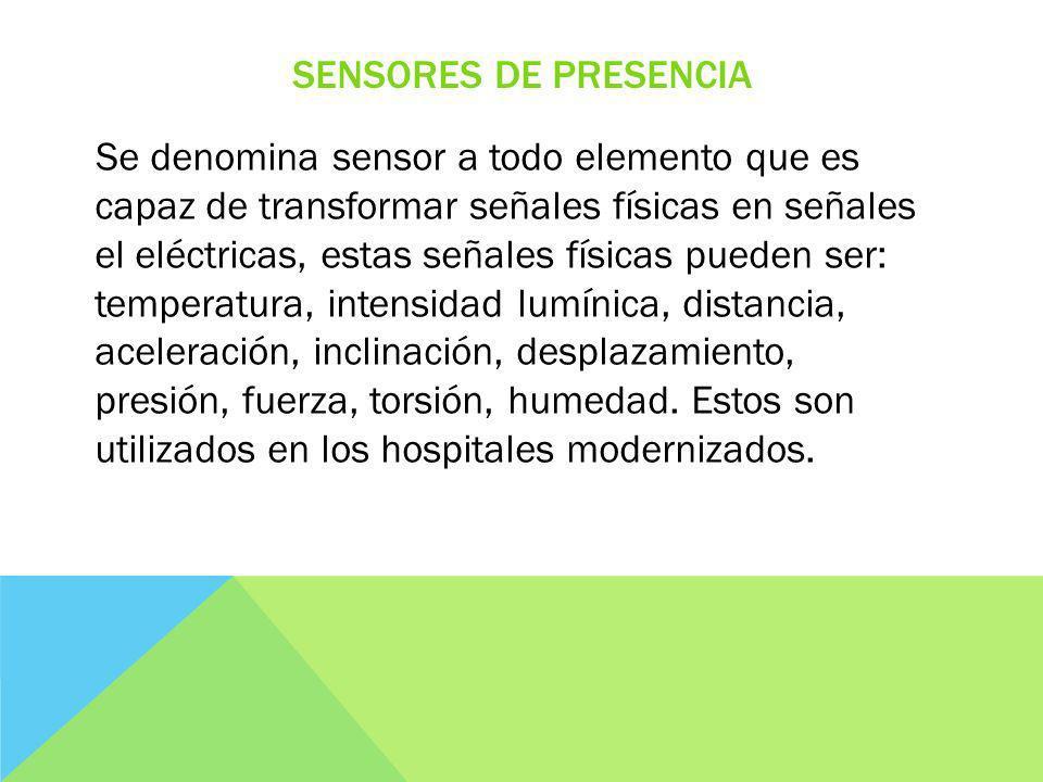 Sensores de presencia