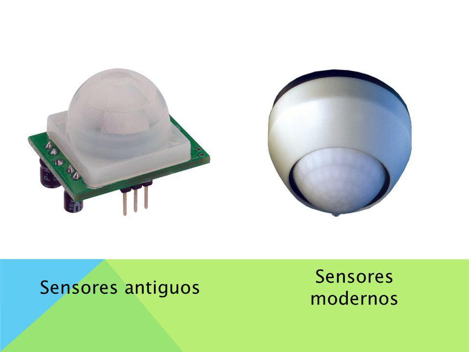 Sensores modernos Sensores antiguos