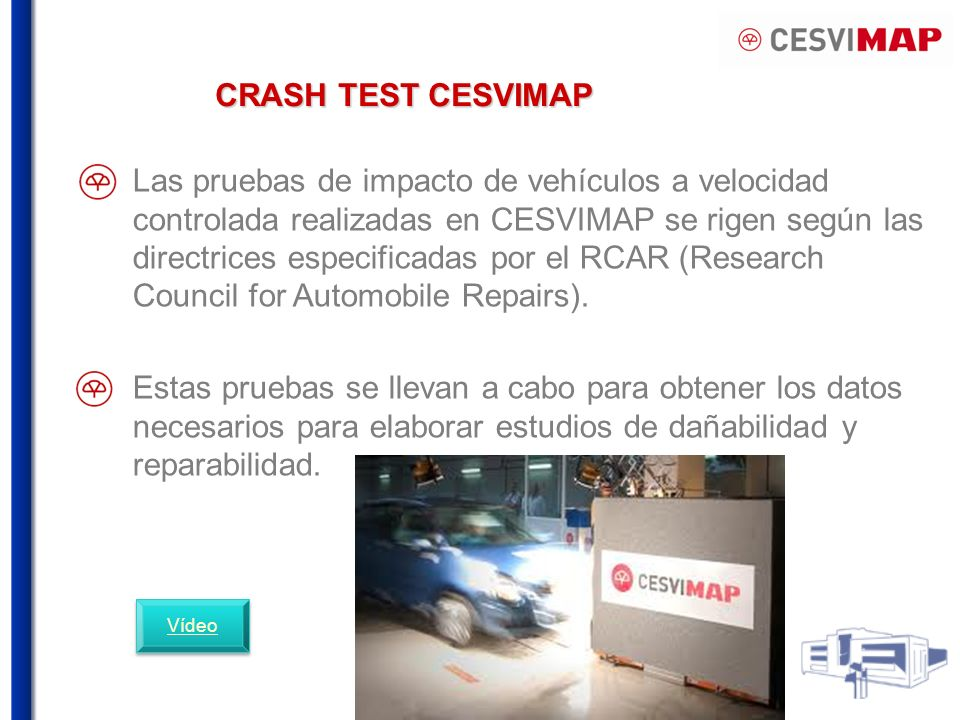 CRASH TEST CESVIMAP