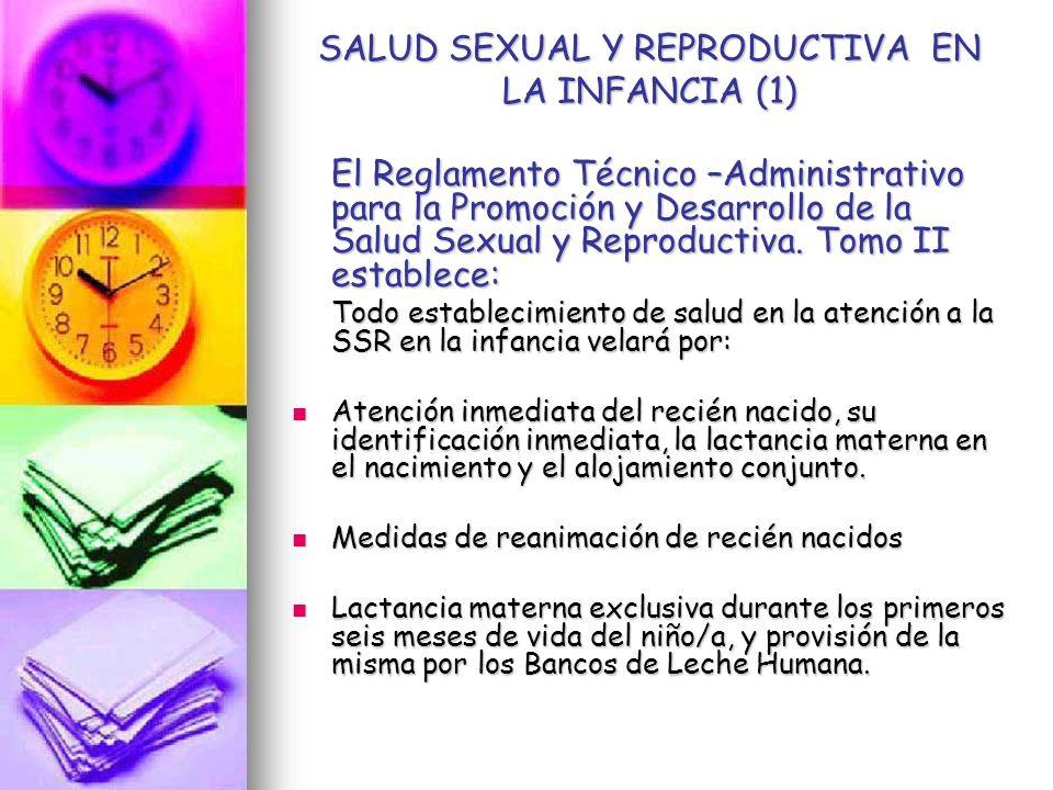 SALUD SEXUAL Y REPRODUCTIVA EN LA INFANCIA (1)