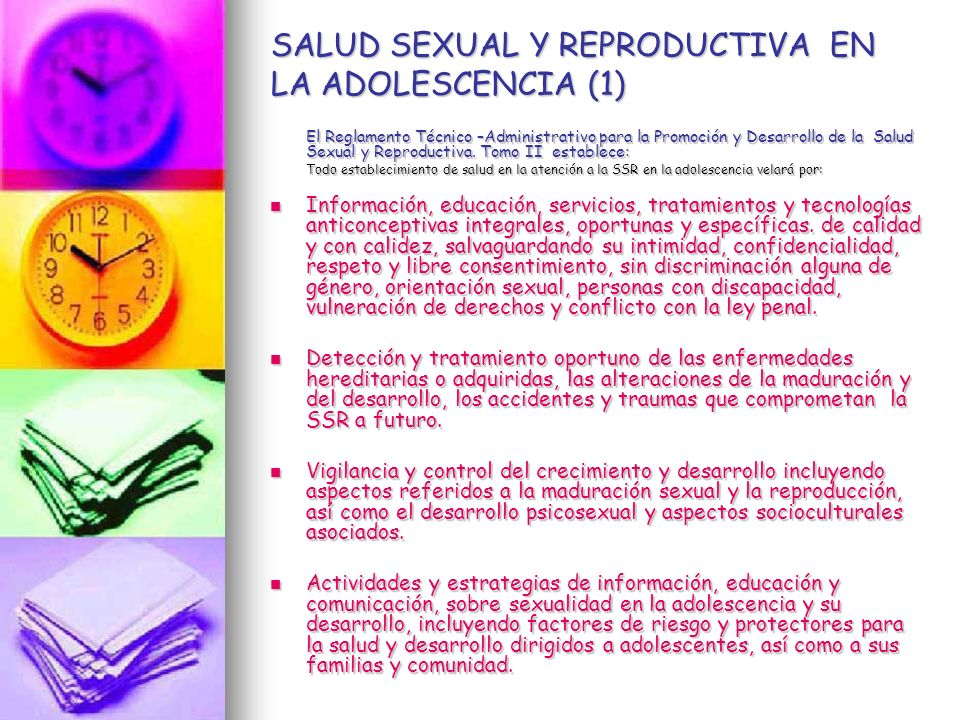 SALUD SEXUAL Y REPRODUCTIVA EN LA ADOLESCENCIA (1)