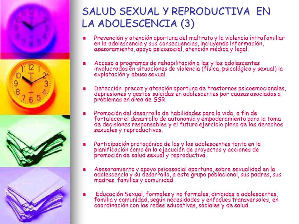 SALUD SEXUAL Y REPRODUCTIVA EN LA ADOLESCENCIA (3)