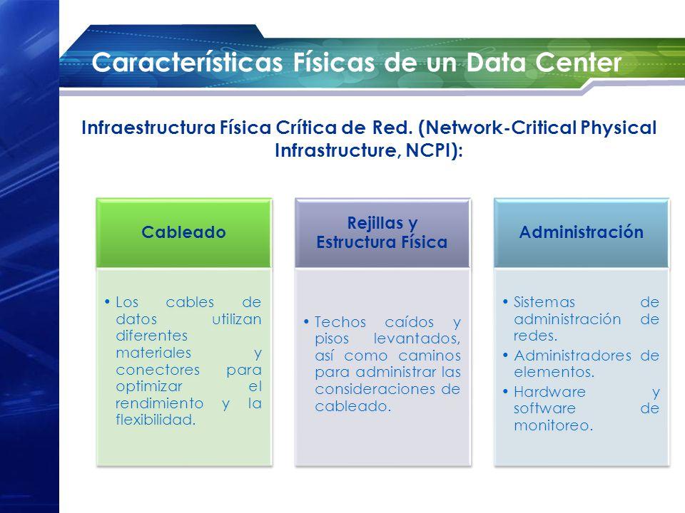 Características Físicas de un Data Center