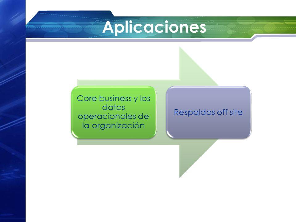 Core business y los datos operacionales de la organización