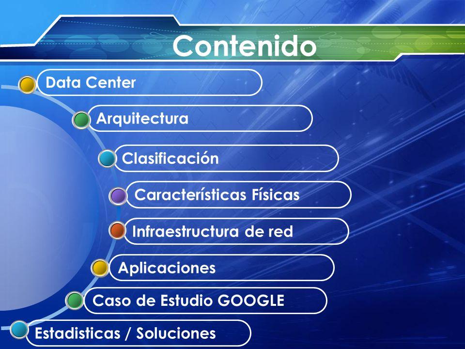 Contenido Data Center Arquitectura Clasificación