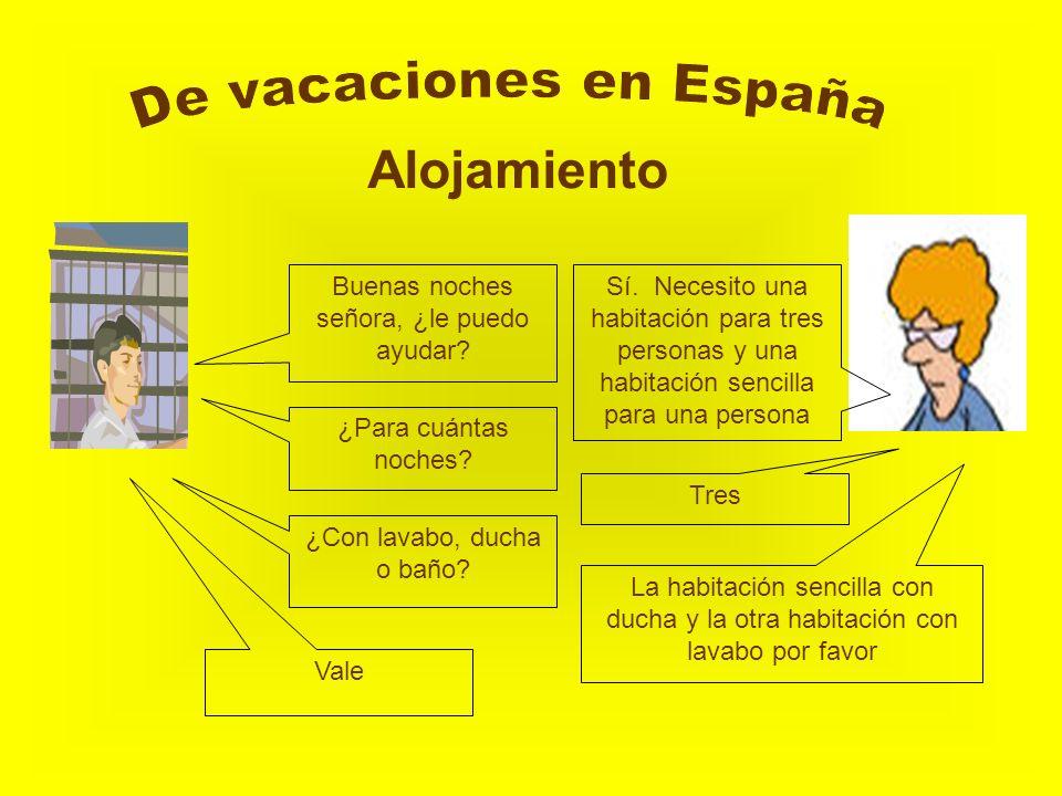 De vacaciones en España Alojamiento
