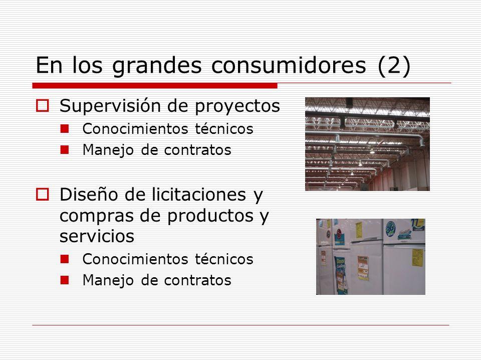 En los grandes consumidores (2)