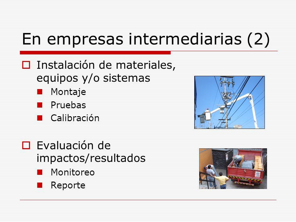 En empresas intermediarias (2)