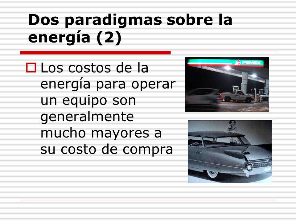 Dos paradigmas sobre la energía (2)