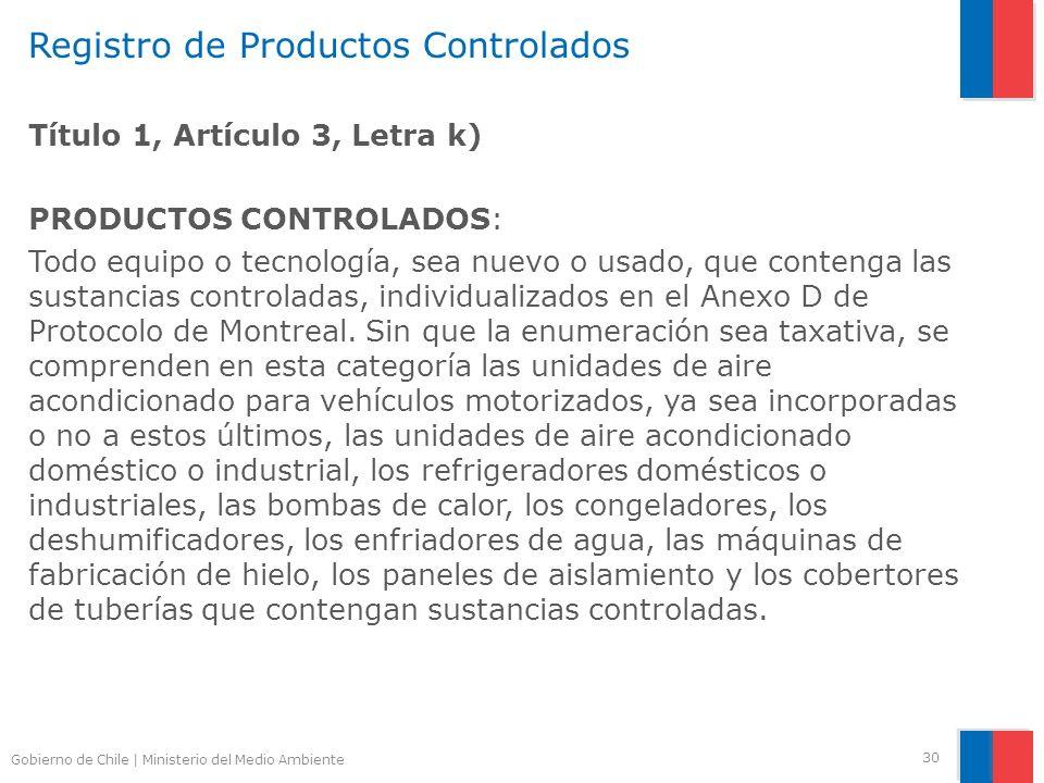 Registro de Productos Controlados