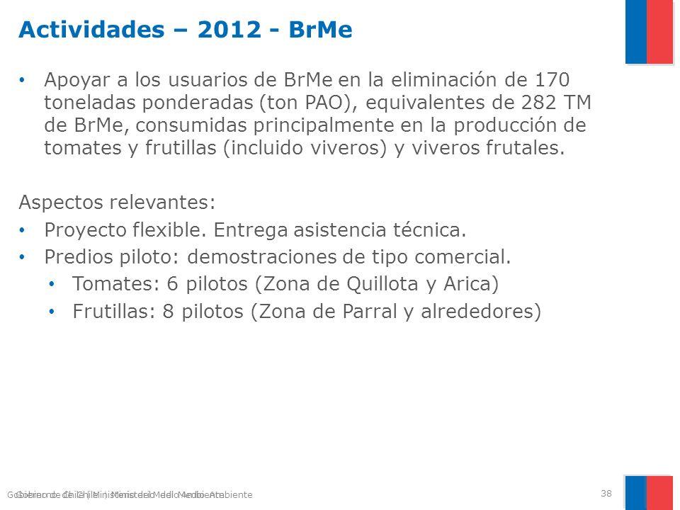 Actividades – 2012 - BrMe