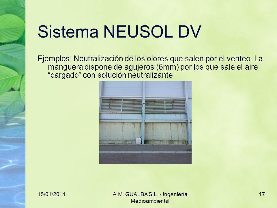 A.M. GUALBA S.L. - Ingeniería Medioambiental