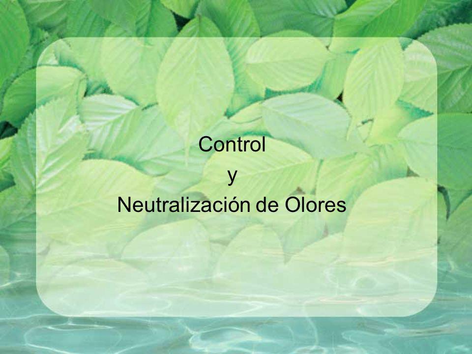 Control y Neutralización de Olores