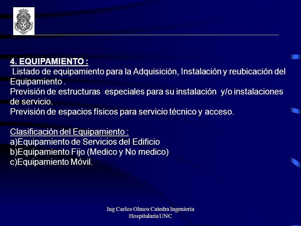 Ing Carlos Olmos Catedra Ingenieria Hospitalaria UNC
